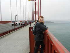Barbara on the bridge